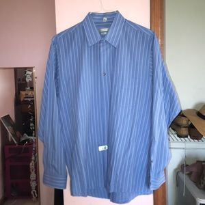 Men's Geoffrey Beene Dress Shirt Size 17